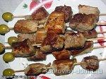 Шашлычки домашние из свинины