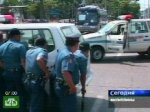 Бандиты захватили автобус со школьниками