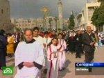 Папа Римский возглавил торжественную мессу