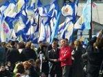 Сторонники Рады и коалиции ходят колоннами по Киеву, требуя отмены указа Ющенко