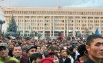 Премьер Киргизии проинформировал участников акции о действиях властей