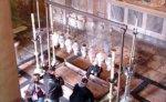 В храме Гроба Господня ожидают чуда схождения Благодатного огня