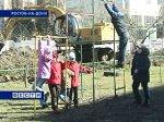 Жители домов на улице Добровольского выступили против строительства кафе на детской площадке
