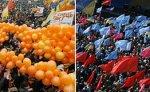 Против роспуска Рады на Украине протестуют более 50 тысяч человек