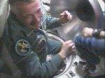Члены 15-й космической экспедиции вошли на МКС