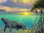 Ламантины больше не считаются вымирающими животными