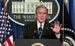Буш передал часть своих функций директору национальной разведки США