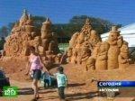 Рождественские сказки ожили в царстве песчаных замков