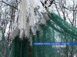 Километры сетей изъяты в Таганрогском заливе в ходе операции 'Путина'