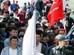 Киргизский спецназ разогнал митинг оппозиции слезоточивым газом