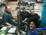 «Союз» приземлился в казахстанской степи