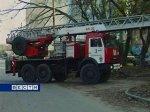 В Ростове-на-Дону горят склады кровельных материалов
