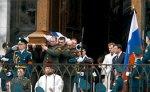 Траурный кортеж с гробом Бориса Ельцина прибыл на Новодевичье кладбище