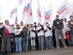 """""""Молодая гвардия"""" отрепетировала палочный бой с оппозицией"""