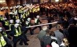 В результате беспорядков в Таллине пострадали десять человек