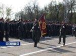 В Ростове прошел строевой смотр защитников правопорядка