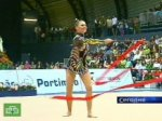 Кабаева выиграла три золотых медали