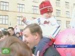 Россияне отмечают Первомай с друзьями