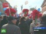 Профсоюзы дружно вышли на праздничный митинг