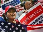 Марш иммигрантов в США собрал 200 тысяч человек
