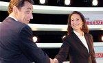 Саркози и Руаяль разошлись в оценке значения своих теледебатов