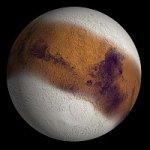 Марс может быть наполовину покрыт льдом