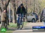 Москвичи сменили машины на велосипеды