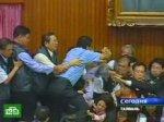 Депутаты попытались решить проблемы кулаками