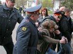 """Свидетельница обвинения по делу о """"Конопляном марше"""" напала на фотографа"""