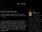 Американский солдат получил Блукеровскую премию за онлайн-дневник об иракской войне