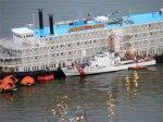 С получившего пробоину круизного лайнера эвакуированы пассажиры