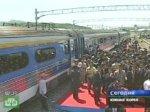 Две Кореи на один день открыли железнодорожное сообщение.