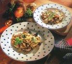Деликатесы из духовки Лотарингский пирог с грибами