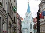 Туристов посадили в тюрьму за глумление над латвийским флагом
