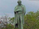 Украли бронзовую ограду у памятника Пушкину в центре Москвы