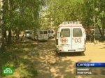 Нижегородские водители «скорой помощи» устроили акцию протеста.