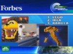 Самая лучшая репутация, по версии журнала «Форбс», у датской компании «Лего».