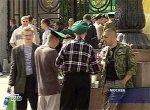 День пограничника в Москве прошел мирно