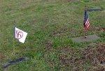 Осквернены воинские могилы в день памяти павших в США