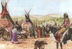 Чем занимались индейцы прерий и Великих Равнин?