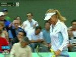 Дементьева обыграла юную соперницу.