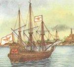 Корабли эпохи Великих географических открытий.