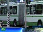 В Москве из-за жары ломается транспорт.