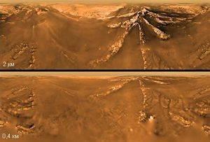 На Титане обнаружены моря из песка