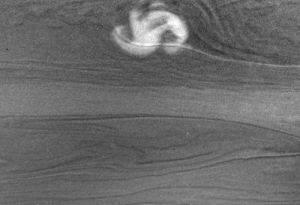 фантастическая гроза на Сатурне