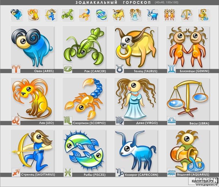 Рисунки с гороскопами