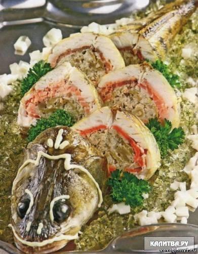 блюда из рыбы рецепты с фото.