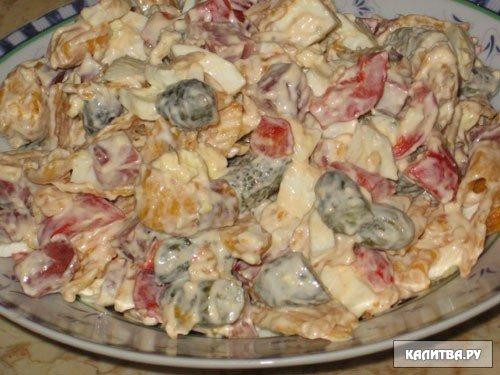 Другие салаты: рецепты салатов из овощей насти скрипиной...