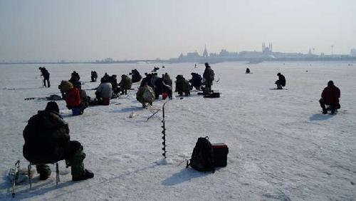 Зимняя рыбалка спасатели напоминают