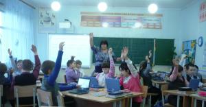 В белокалитвинской школе №1 трудится влюбленная в свое дело учитель Наталья Михайловна Мельникова